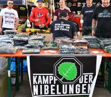 German neo-Nazis mass for festival on Hitler's birthday