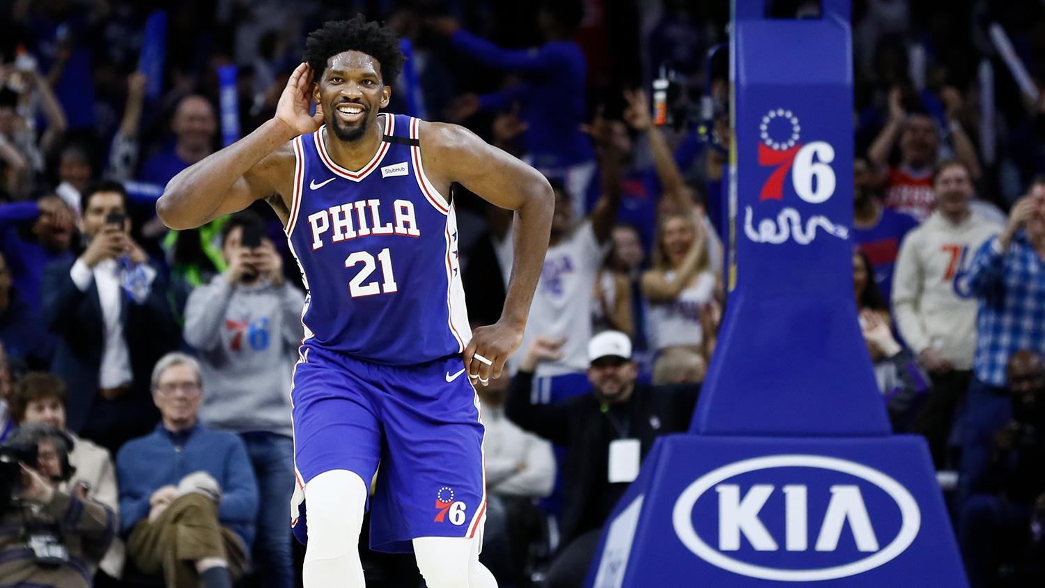 Brett Brown insists Joel Embiid has 'real desire' to be at career-best weight