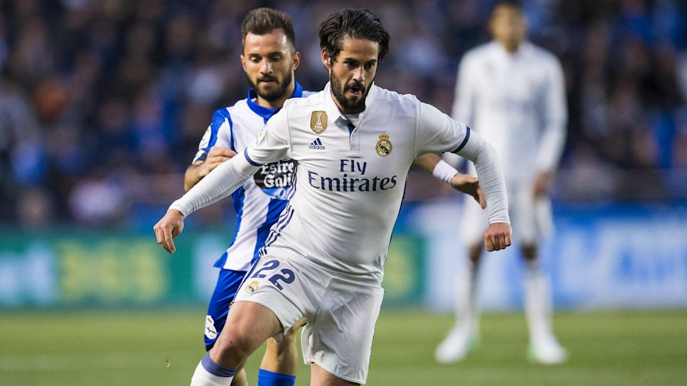 Zidane hails 'outstanding' Isco as Madrid stay level with Barca