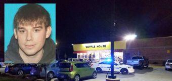 Police: Nude gunman kills 4 at Waffle House