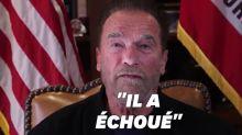 Arnold Schwarzenegger réagit aux événements du Capitole et se paie Trump