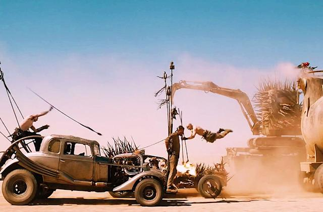Steam's selling all four 'Mad Max' films along with the game