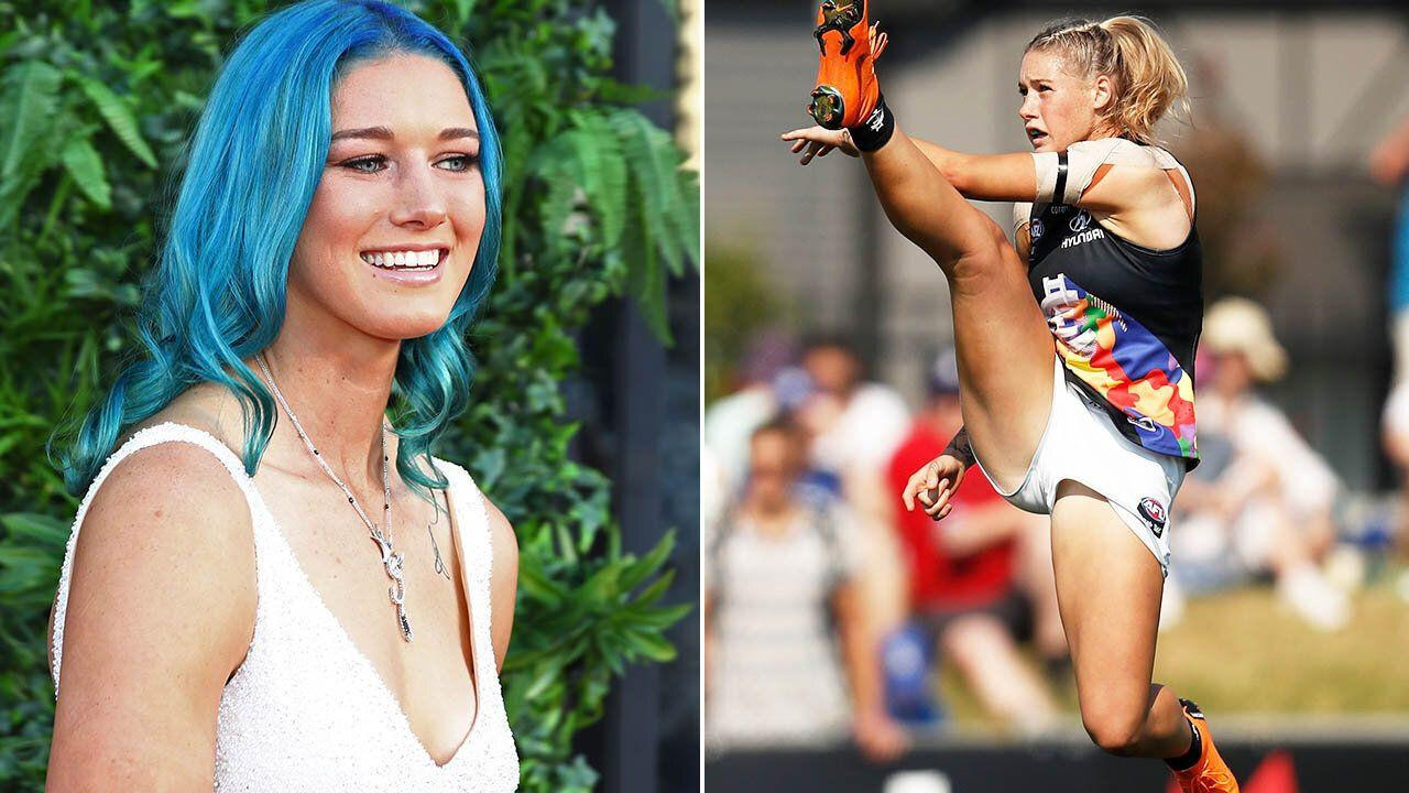 Incredible new twist in furore surrounding photo of female footy star