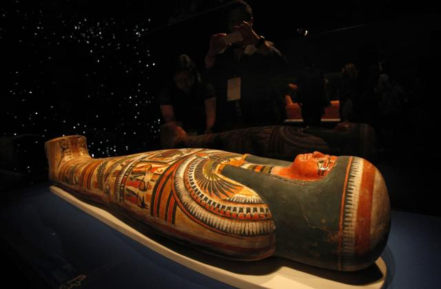 Scanning technique reads hidden writing in mummy boxes