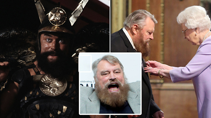 Brian Blessed says 'Flash Gordon' is the Queen's favourite film