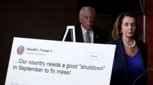Schumer, Trump meet at White House as government shutdown looms