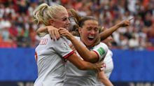 England 3-0 Cameroon: Lionesses win chaotic World Cup tie to reach quarter-finals