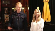 Lisa Kudrow And Conan O'Brien Sincerely Teach How To Make It In Show Business