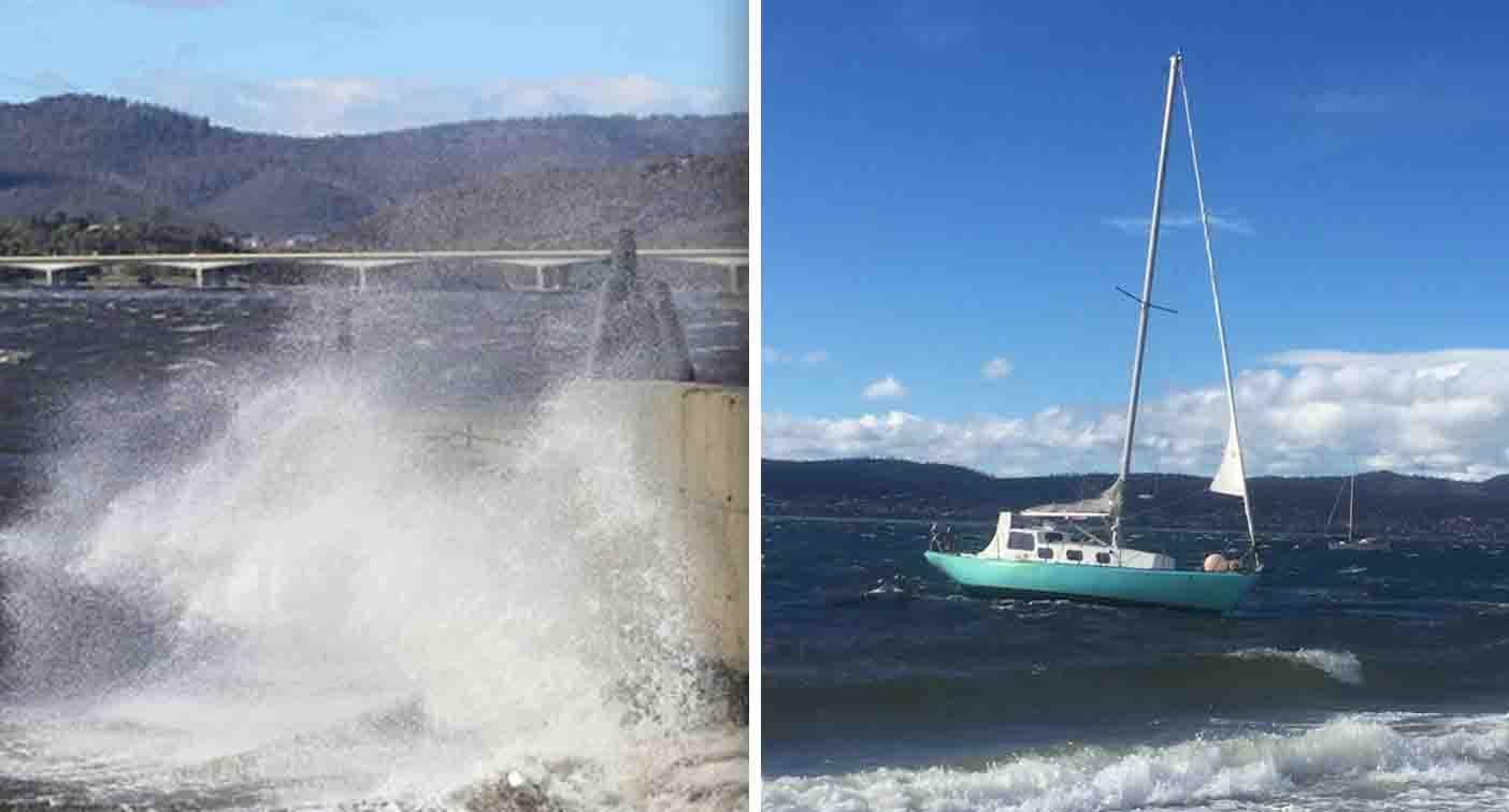 East coast braces for wild weather, huge waves as cold front looms