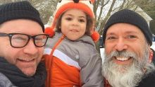 Gay father accused by United flight attendant of molesting his own foster son