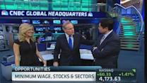 Stock boost from higher minimum wage