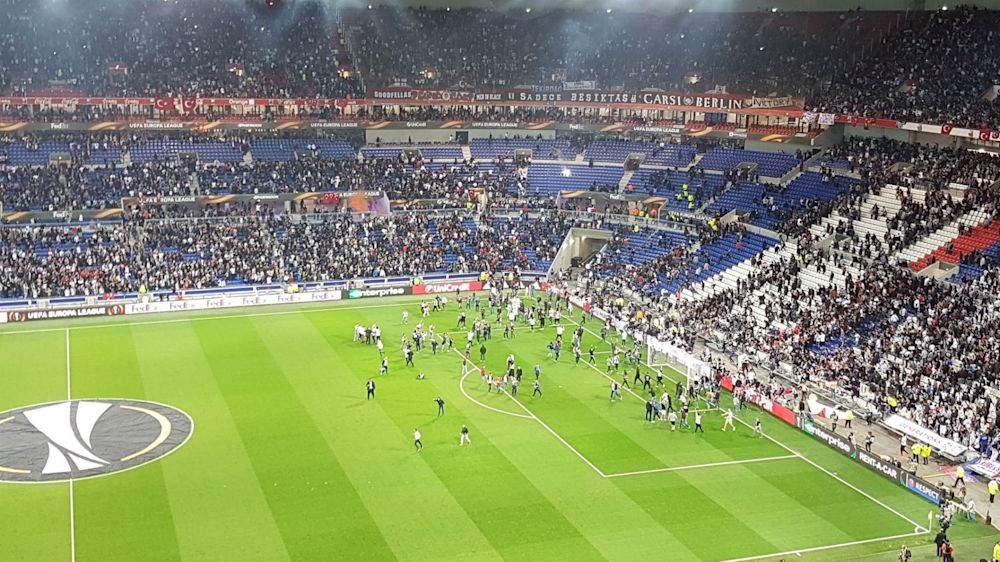 Lyon and Besiktas given suspended UEFA bans