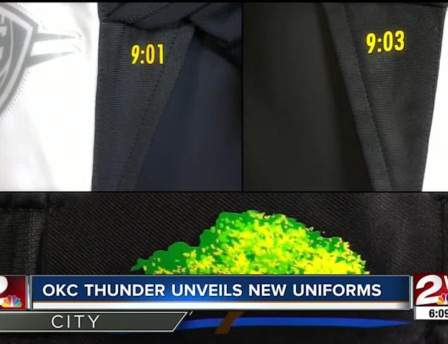 buy popular 9ff6c 75ed1 OKC Thunder unveil new uniforms for 2019-20, including 'City Edition' to  honor victims, survivors of 1995 Oklahoma City Bombing
