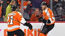 Celebrating his birthday back home, Flyers' Michael Raffl will soon sneak up on franchise names