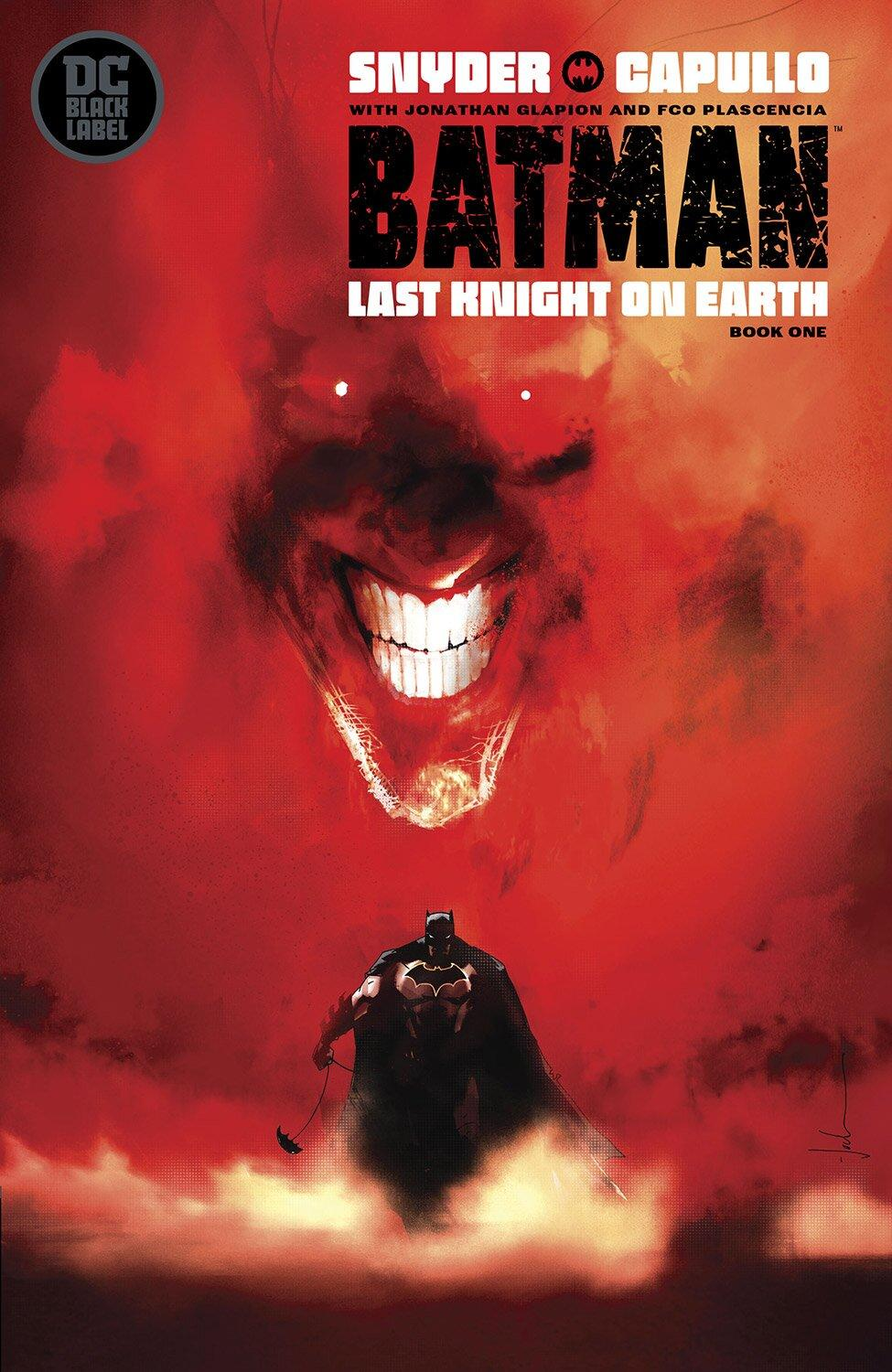 Read the first harrowing chapter of epic comic Batman: The Last Knight on Earth for free