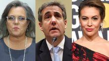 Rosie O'Donnell, Alyssa Milano and other stars respond to Michael Cohen's testimony: 'Trump is evil'