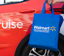 Walmart invests in self-driving electric car company Cruise after delivery pilot