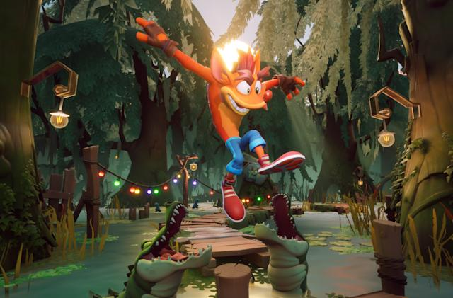 'Crash Bandicoot 4' is coming to PS5, Xbox Series X/S and Switch in March