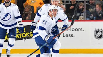 Lightning's star scores strikingly fast hat trick