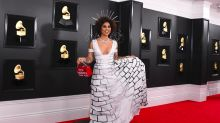 Singer's 'Build The Wall' dress stirs debate