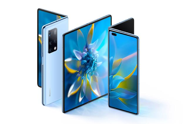 Huawei's Mate X2 foldable takes a page out of Samsung's book