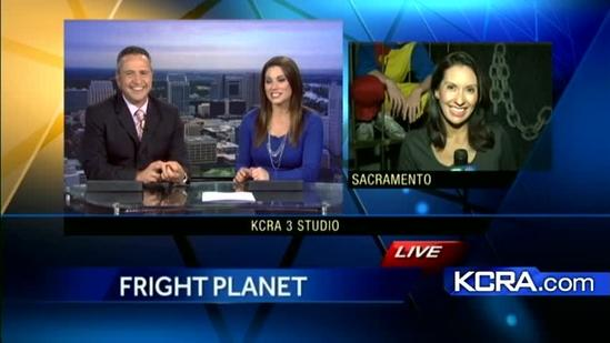Sneak a peek at Cal Expo's Fright Planet