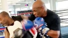 'Terrified': Mike Tyson's scary workout nearly obliterates trainer