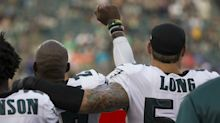 Chris Long adds white face to cause of equality, as Peter Norman once did