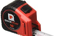 Whoever invented this $9 tape measure with a built-in pencil is a friggin' genius