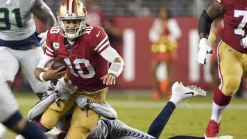 Jimmy G may not be super enough for Niners