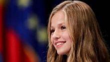 Leonor di Spagna incanta tutti con il primo discorso