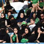 Saudi Women Were Allowed into a Sports Stadium for the First Time in the Kingdom's History