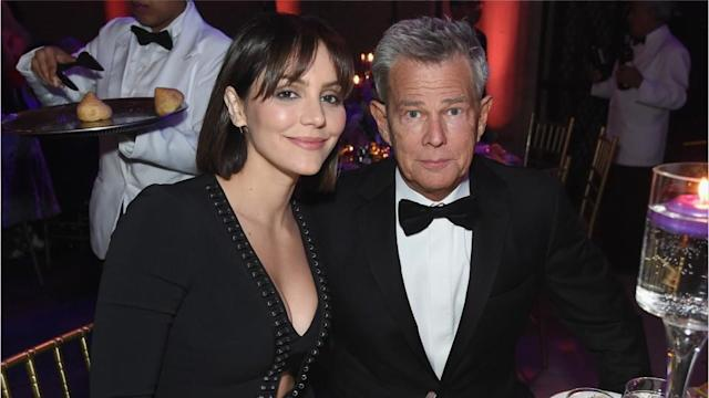 Katharine Mcphee And David Foster Have Some Four Letter Words For Critics Of Their Age Difference
