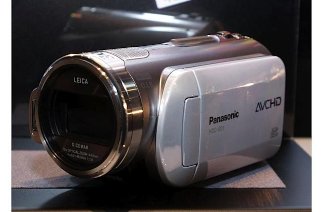 Panasonic's HDC-SD1 and HDC-DX1 AVCHD 1080i camcorders loosed