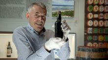 Shipwrecked bottle of stout returns to Glasgow after 150 years