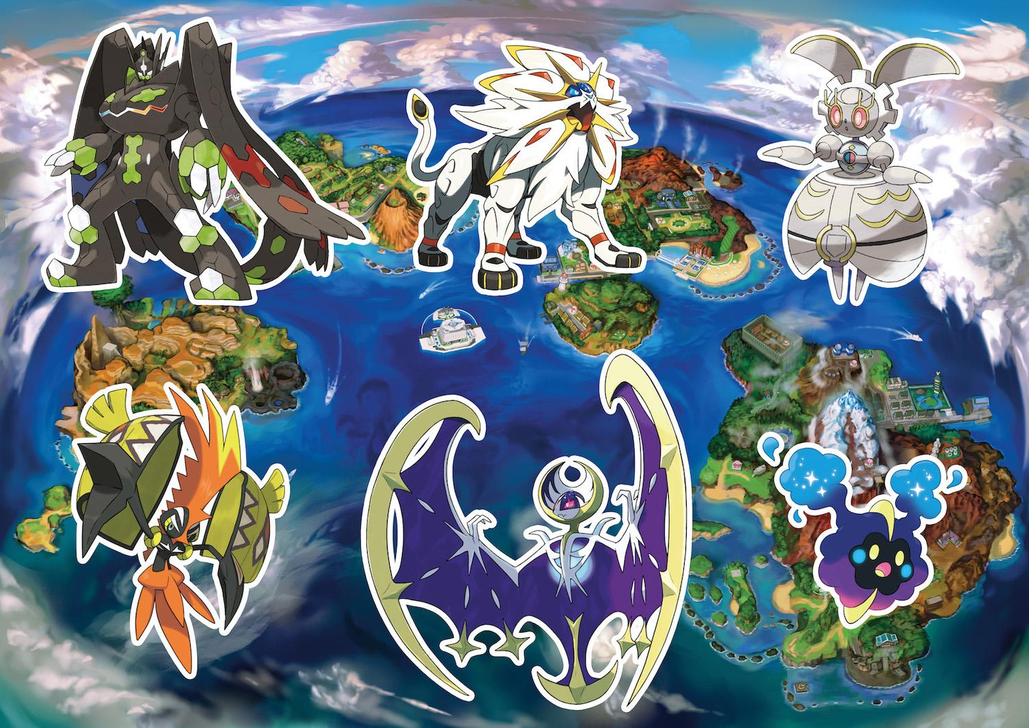 Sun And Moon Get Back To First Island