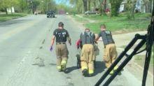 Good News des Tages: Feuerwehrmänner gehen die Extrameile