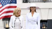 """Brigitte Macron et Melania Trump assorties : """"elles se connaissent et s'apprécient"""""""