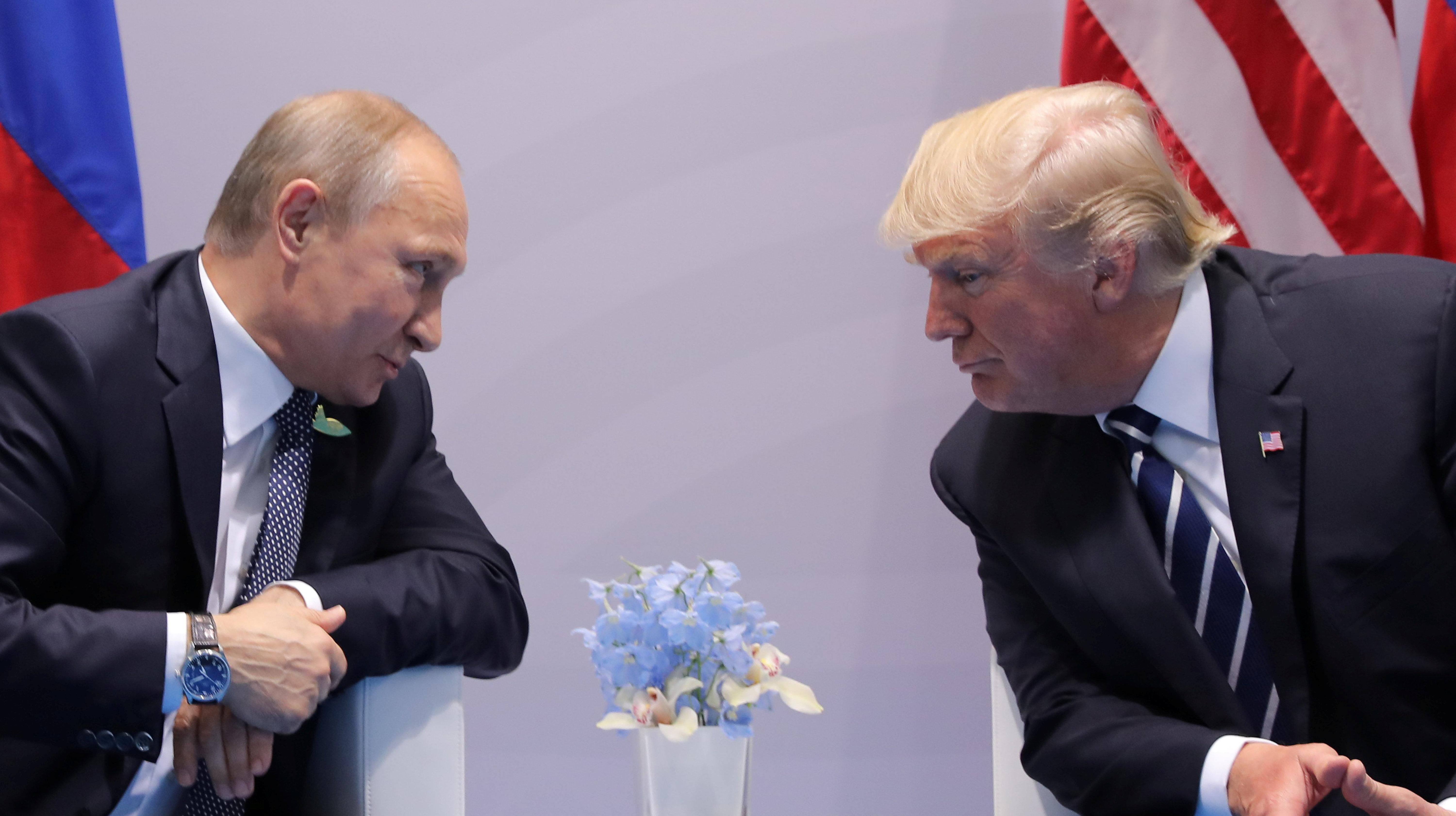 Trump Blames Putin, Iran For Backing 'Animal Assad' In Wake Of Reported Chemical Attack