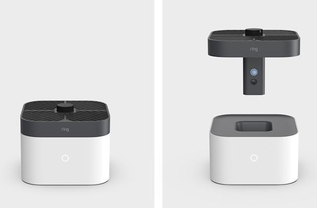 Ring made a security drone that flies around inside your home