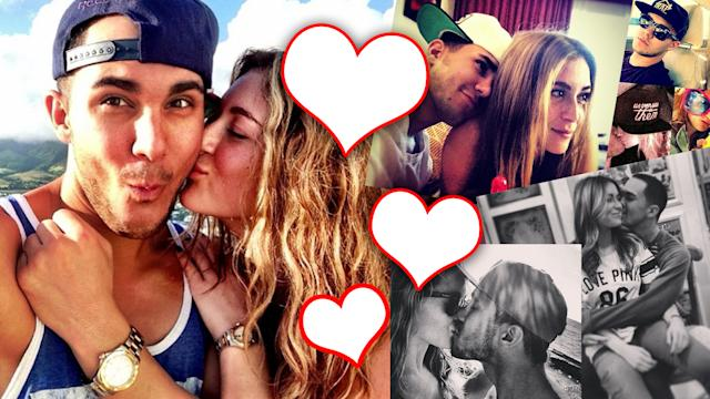 Big Time Rush's Carlos Pena & Alexa Vega ENGAGED