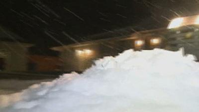First Snowstorm of 2014 Aims for Northeast