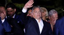 Hungary's Fidesz wins 52% of vote; Orban vows to halt immigration
