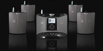 EOS' Wireless iPod Speaker System does multi-room audio for less