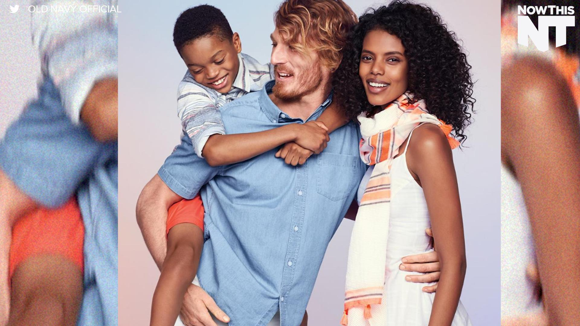 This Old Navy Ad Featuring an Interracial Family Is Being Attacked ...