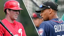 Fantasy Baseball Face-Off: Rhys Hoskins or Byron Buxton?