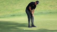 Watch: Phil Mickelson makes par after putting from 78 yards out in fairway