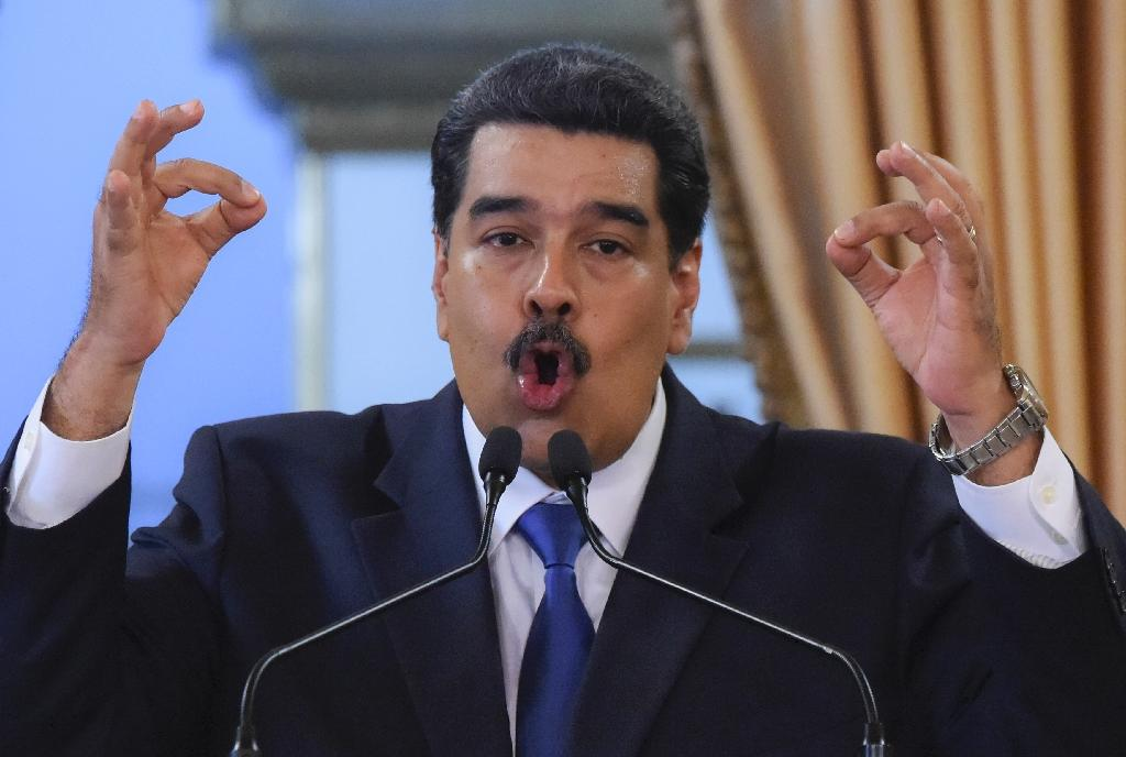Venezuelan President Nicolas Maduro says some 80 tons of gold that belongs to his country are sequestered at the Bank of England