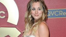 Kaley Cuoco Wants to Wear her Wedding Outfit Every Week