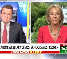 Fox News Host Grills Betsy DeVos on 'Reckless' Plan to Reopen Schools